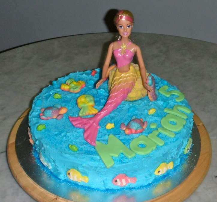 2011 - Mermaidia Barbie Cake