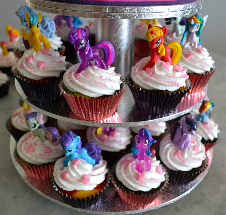 2015 - My Little Pony Cupcakes!